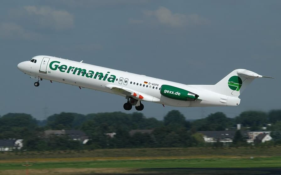Germania-Fokker-100