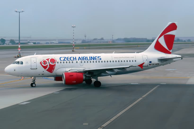 Czech-Airlines-Airbus-A319-112