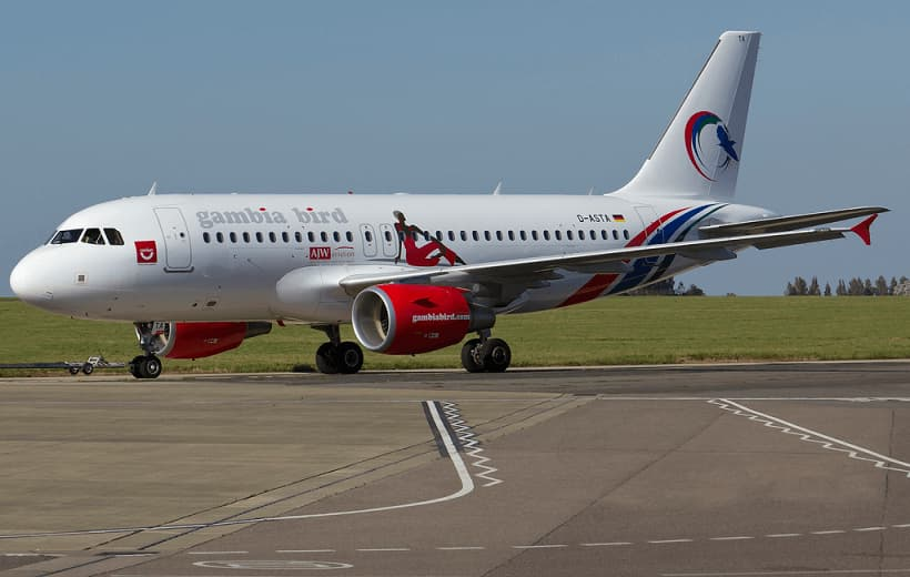 Gambia-Bird-Airbus-A319