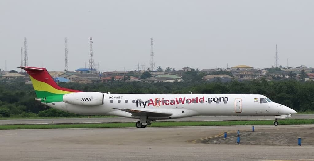 Africa World Airlines ERJ 145