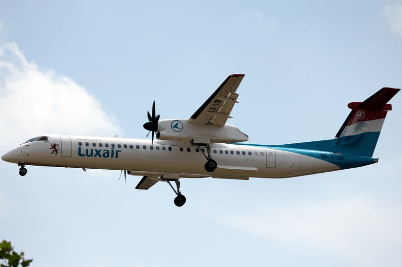 Luxair-Bombardier-Q400